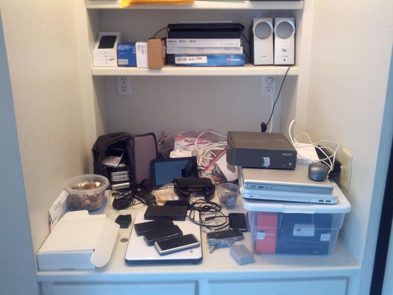 Russel Beattie's gadget collection